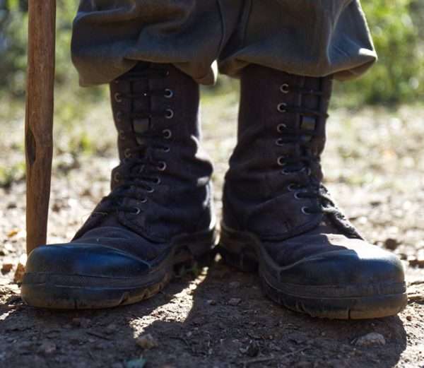 walking boots for anti poaching